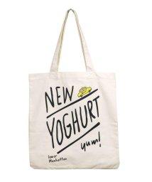 212KITCHEN STORE/212Kオリジナル New Yoghurt エコバッグ ロゴ/503044065