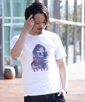 Nylaus/SKKONE ギミックプリント 3Dガールプリント 半袖Tシャツ/503048270