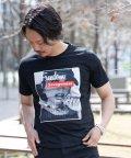Nylaus/SKKONE エンボスロゴ サガラ刺繍 ガールプリント 半袖 Tシャツ/503048271