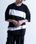 Nylaus/SKKONE ニュースペーパープリント ビッグシルエット 半袖Tシャツ/503048275