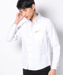MARUKAWA/オックス ポケットデザイン 長袖シャツ/502976446