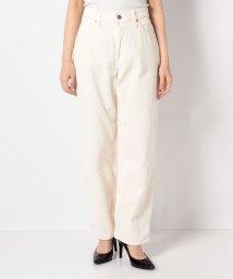 LEVI'S LADY/DAD CORDUROY PANTS OFF WHITE 4.1.1/503026159
