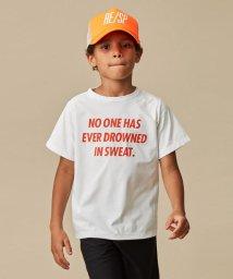 こどもビームス/RE/SP / メッセージ Tシャツ 20(130~160cm)/503049280