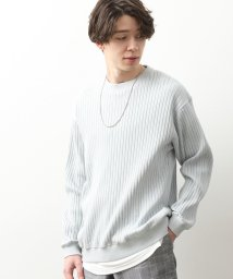 JUNRed/ワイドリブカットソー/503050426