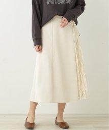 framesRayCassin/脇レースプリーツ切替スカート/503050432