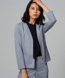 UNTITLED/【洗える・消臭・UVカット・接触冷感】カラーレスジャケット/503050480