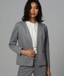 UNTITLED/[L]【洗える・消臭・UVカット・接触冷感】カラーレスジャケット/503050481