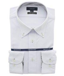 TAKA-Q/ノーアイロンストレッチ レギュラーフィットボタンダウン長袖ニットビジネスドレスシャツ/ワイシャツ/503051125