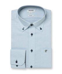 TAKA-Q/形態安定吸水速乾スリムフィット ドゥエボタンダウン長袖ビジネスドレスシャツ/ワイシャツ/503051243