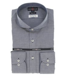 TAKA-Q/綿100% 形態安定 スリムフィット カッタウェイ長袖ビジネスドレスシャツ/ワイシャツ/503051291