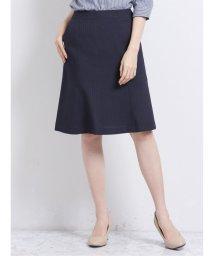m.f.editorial/トラベスト/TRABEST セットアップ フレアースカート 紺ストライプ/503051579