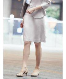 m.f.editorial/ホトフレッシュ/HOTOFRESH セットアップ セミタイトスカート ベージュ/503051593