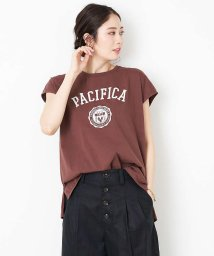 Rouge vif la cle/【MICA&DEAL】PACIFICAプリントTシャツ【予約】/503052616
