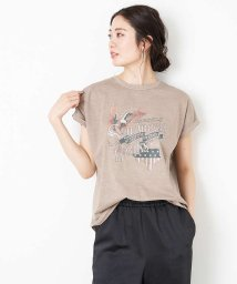 Rouge vif la cle/【MICA&DEAL】WEB限定イーグルロックプリントTシャツ【予約】/503052617