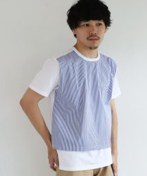 BEAMS MEN/ALOYE / Shirt Fabrick Tee 20SS1/502884323