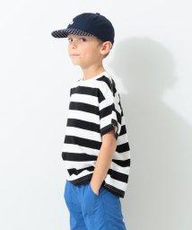 こどもビームス/GROOVY COLORS × こども ビームス / 別注ボーダービッグ Tシャツ 20(100~120cm)/502886702