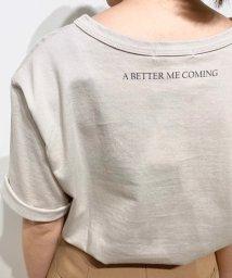 le.coeur blanc/MAGNIFIQUEプリントTシャツ/502895622