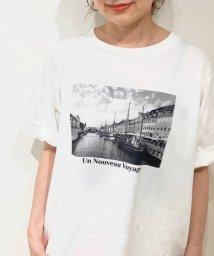 le.coeur blanc/VOYAGE プリントTシャツ/502895623