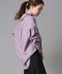 OMNES Another Edition/【OMNES Another Edition】製品洗い 綿麻レーヨンビッグシャツ /503007006