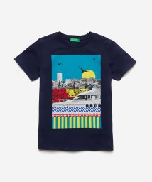 BENETTON (UNITED COLORS OF BENETTON BOYS)/サントロペプリントTシャツ・カットソー/503019854