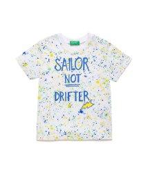 BENETTON (UNITED COLORS OF BENETTON BOYS)/スプラッシュプリントTシャツ・カットソー/503027177