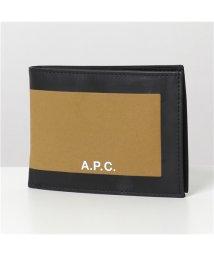 A.P.C./【APC A.P.C.(アーペーセー)】COEAK H63330 porte cartes savile 二つ折り財布 ミニ財布 豆財布 CAB/CAMEL メ/503044728
