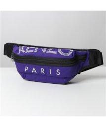 KENZO/【KENZO(ケンゾー)】5SF212 F24 80 BUMBAG ロゴ ボディバッグ ウエストポーチ ベルトバッグ 鞄 メンズ/503044794