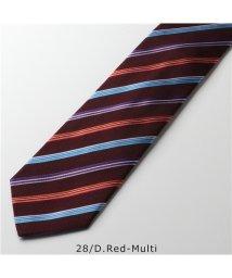 Paul Smith/【Paul Smith(ポールスミス)】552M E04 AE04 カラー4色 イタリア製 シルク ネクタイ ジャガード レジメ ストライプ メンズ/503044839