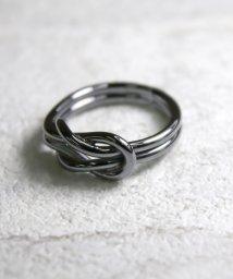 MAISON mou/【YArKA / ヤーカ】bind coad ring silver925/結び紐リング シルバー925/503051726