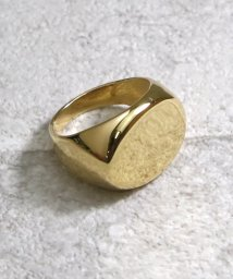 MAISON mou/【YArKA/ヤーカ】oval plain ring[reck2]/プレーン楕円リング[レック2]/503051741