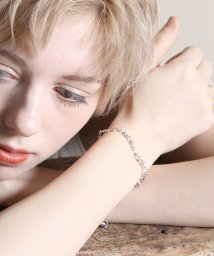 MAISON mou/【YArKA/ヤーカ】silver925 star jewelry collecttion star chain bracelet [chast1]/スタージュ/503051742