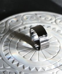 MAISON mou/【YArKA/ヤーカ】silver925 7mm plane ring [pwo]/シルバー925  7ミリプレーンリング/503051751