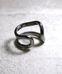 MAISON mou/【YArKA/ヤーカ】silver925 distortion ring[yuga]/シルバー925歪みリング/503051764