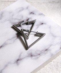 MAISON mou/【YArKA/ヤーカ】stainless series triangle pierce/ステンレス トライアングルピアス/503051784