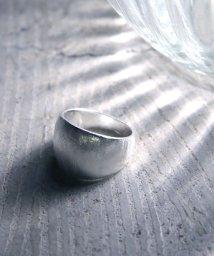 MAISON mou/【YArKA/ヤーカ】siver925 frost image ring [symo]/霜イメージリング シルバー925/503051800