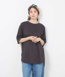 collex/【接触冷感】コンパクトクールチュニックTシャツ/503052984