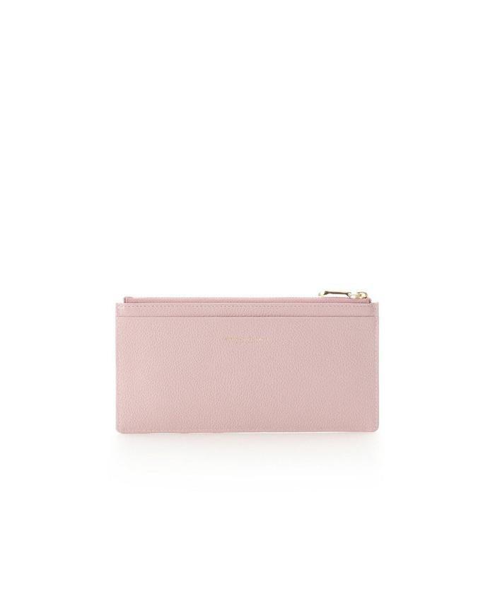 サマンサタバサプチチョイス シンプルレザー 薄型カードケース レディース ピンク FREE 【Samantha Thavasa Petit Choice】