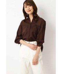 NATURAL BEAUTY BASIC/[洗える]シアーチュニックシャツ/503053126
