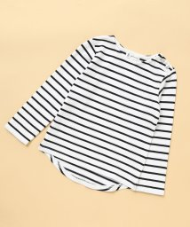 ROPE' PICNIC KIDS/【ROPE' PICNIC KIDS】ボーダーマリンロングTシャツ/503053276