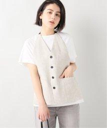 VERMEIL par iena/【INSCRIRE /アンスクリア】Linen ジレ/503054303
