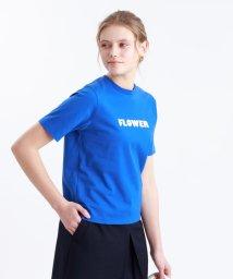MACKINTOSH PHILOSOPHY/フロッキープリントTシャツ/502910202