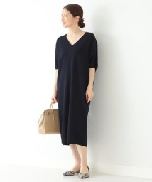 Demi-Luxe BEAMS/Demi-Luxe BEAMS / Vネック ニットワンピース/502943077