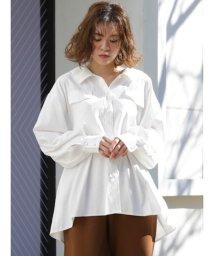 dazzlin/フラップポケットロングシャツ/502990946