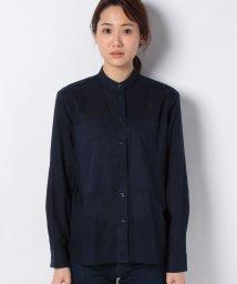 BENETTON (women)/コットンマオカラービッグポケットシャツ・ブラウス/503027198