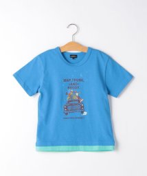 green label relaxing (Kids)/CARモチーフプリント Tシャツ/503029519