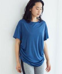 NERGY/【24H快適】【吸水速乾】サイドシャーリングTシャツ/503041667