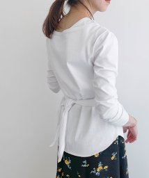 ROPE' mademoiselle/【2WAY】ショルダースリット長袖カットソー/503043437
