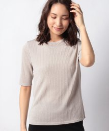 LAPINE BLANCHE/【アンサンブル対応】ラメプレーティングセーター/503043605