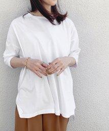ROPE' mademoiselle/【おうち服】ルーズフィットサイドスリットTEE/503046744