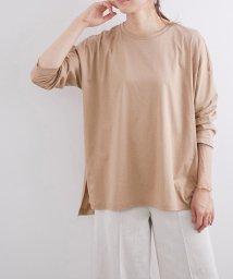 ROPE' mademoiselle/【おうち服】ルーズフィットサイドスリットTシャツ/503046744